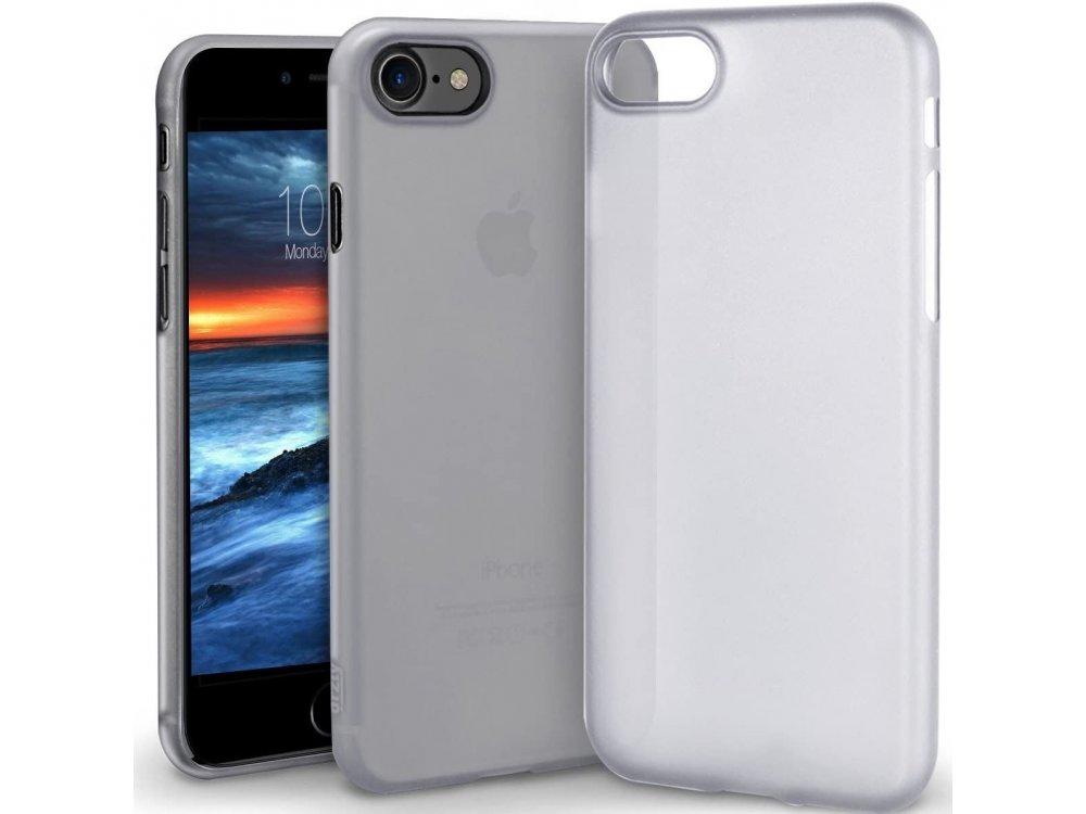 Orzly iPhone SE 2020 / 8 / 7 Flexi-Slim Θήκη Σιλικόνης, Smokey Slate