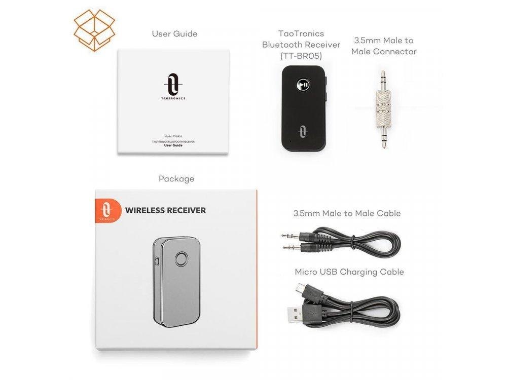 TaoTronics Bluetooth 4.2 Handsfree Car Kit - TT-BR05