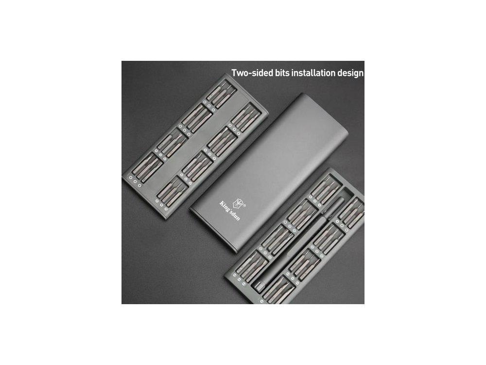 Nordic Σετ Εργαλειοθήκης Με Κατσαβίδι και Μύτες για Ηλεκτρονικά 48τμχ - KS-8828