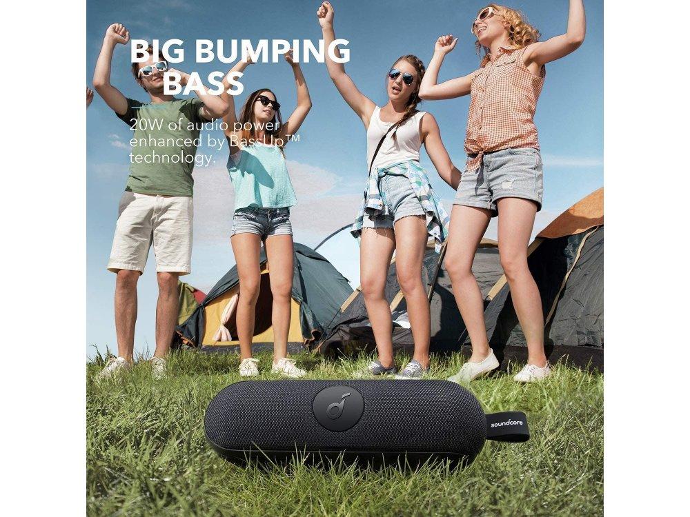 Anker Soundcore Icon+, Φορητό Bluetooth Ηχείο 20W, Bluetooth 5.0, APP Adjustable, TWS - A3123G11, Μαύρο