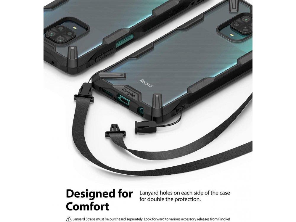 Ringke Fusion X Xiaomi Redmi Note 9S / 9 Pro / 9 Pro Max Case, Black
