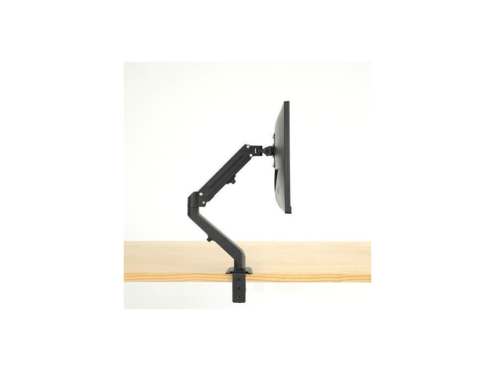 """Nordic Single Arm Desk Mount with Clamp, for monitors 17""""-27"""", up to 5kg - AG6-21"""