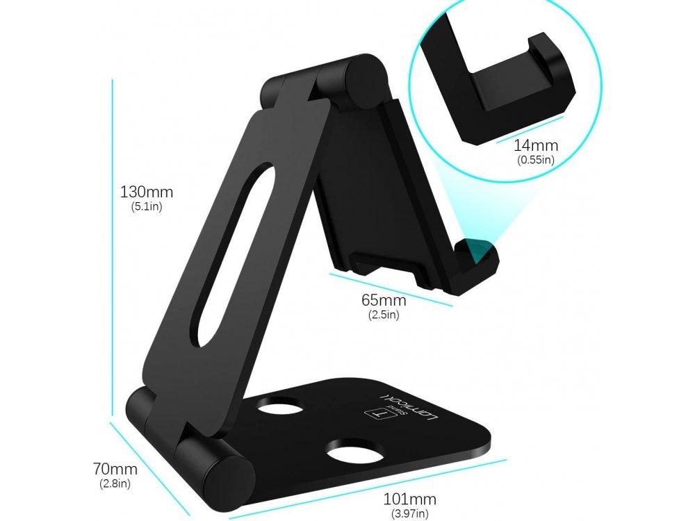 "Lamicall T001 Βάση/Stand για Nintendo Switch Ρυθμιζόμενη 270° και άλλες Tablet / Smartphone συσκευές 5""-13"", Μαύρο"