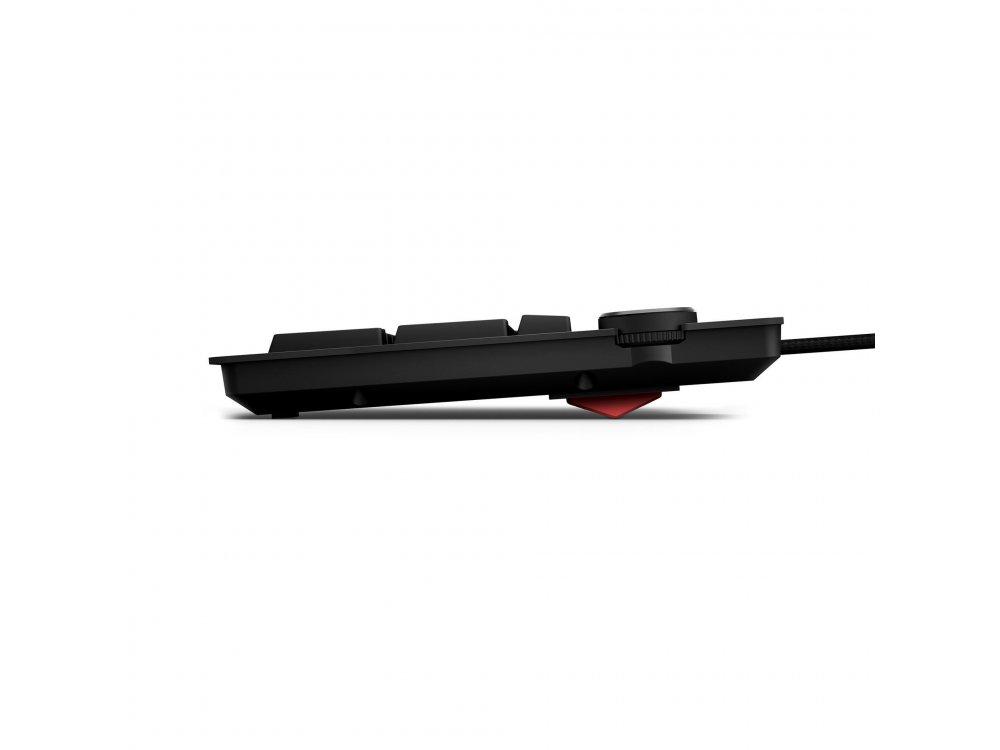 Das Keyboard 4Q Ενσύρματο Μηχανικό RGB Πληκτρολόγιο, Cherry MX Brown Switches, Soft Tactile Mechanical Keyboard UK Layout