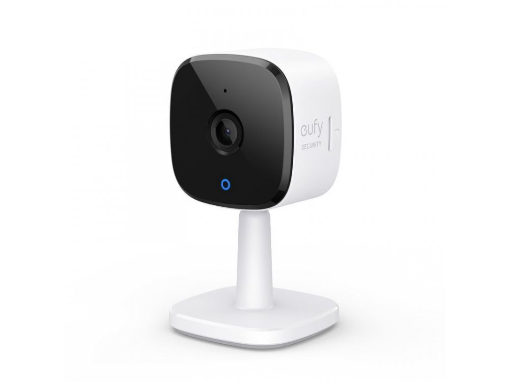 Anker eufyCam IP Camera 2K, 3MP, Night Vision, 2-Way Audio, WiFi and Motion Detection with Human & Pet AI - T84003W2