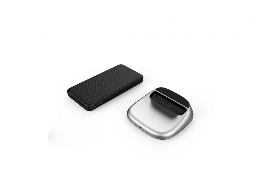 RAVPower Turbo Qi 7.5/10W Wireless Charger / Power Bank 5000mAh, Set with charger & cable - RP-PB106