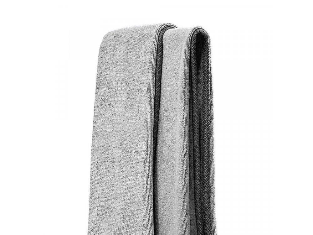 Baseus Απορροφητική Πετσέτα Μικροϊνών, για Στέγνωμα Αυτοκινήτου, 40 x 40cm, Γκρι, Σετ των 2 - CRXCMJ-0G