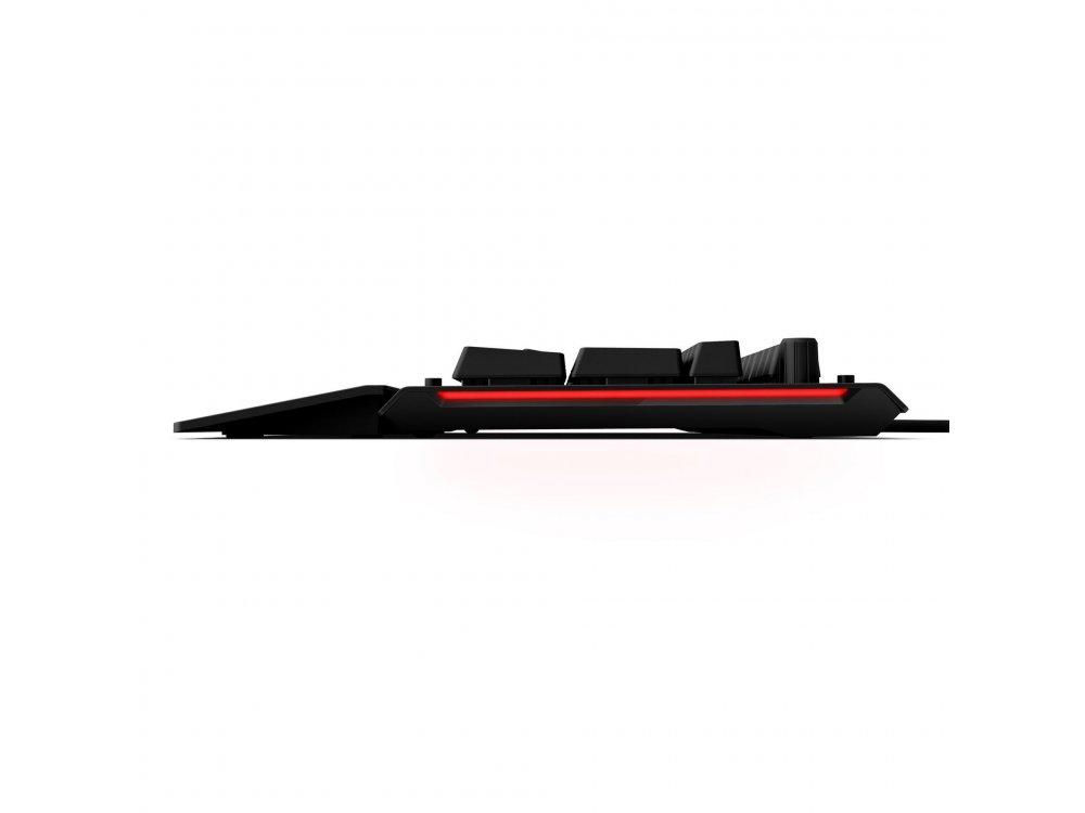 Das Keyboard X50Q Ενσύρματο Μηχανικό RGB Πληκτρολόγιο, Gamma Zulu Switches by Omron (Japan), Mechanical Keyboard UK Layout