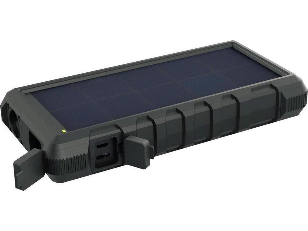Sandberg Outdoor Solar 24000 Power Bank 24.000mAh - 420-38, Μαύρο