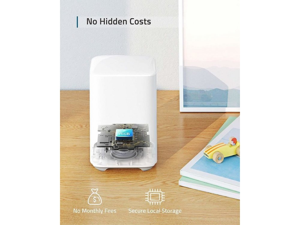 Anker eufyCam 2 Add-on Camera for use with EufyCam 2 Center (HomeBase 2) - T81143D2