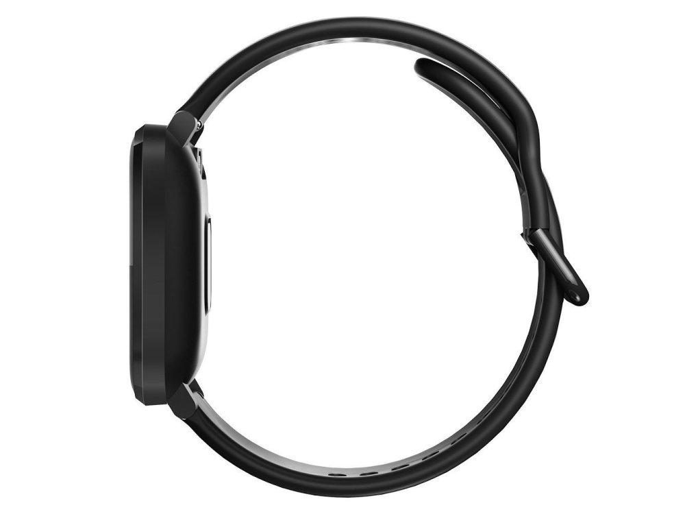 "BlitzWolf BW-HL1 Smartwatch 1.3"" IPS HD Screen, Real Time Health Monitoring, 8 Sports Modes, IP68, HR Blood Pressure, Μαύρο"