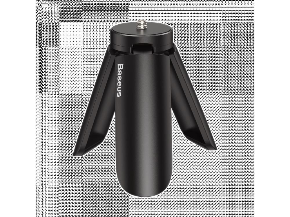 Baseus Mini Tripod With Universal 1/4 Screw for Smartphone / Camera / Gimbal, Black - SUYT-A0G