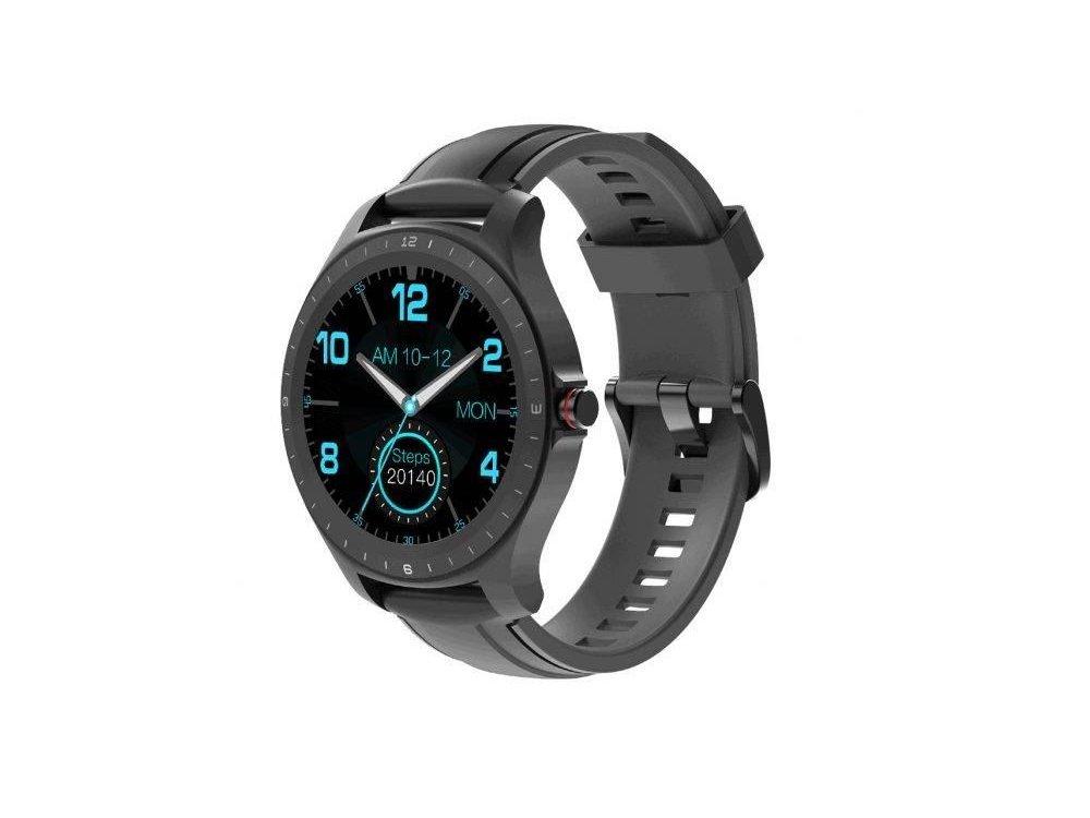 "BlitzWolf BW-HL2 Smartwatch 1.3"" IPS HD Screen, Real Time Health Monitoring, 8 Sports Modes, IP68, HR Blood Pressure, Μαύρο"