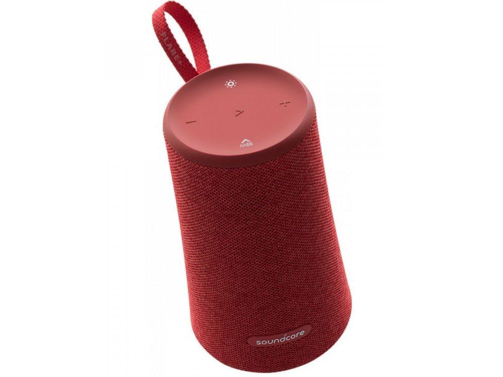 Anker Soundcore Flare+, Φορητό Αδιάβροχο Bluetooth 5.0 Ηχείο 25W RGB - A3162G91, Κόκκινο