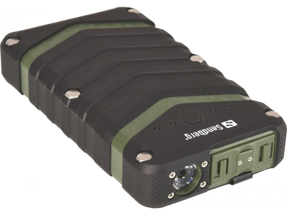 Sandberg Survivor 20100 Power Bank Rugged 20.100mAh, Army - 420-36
