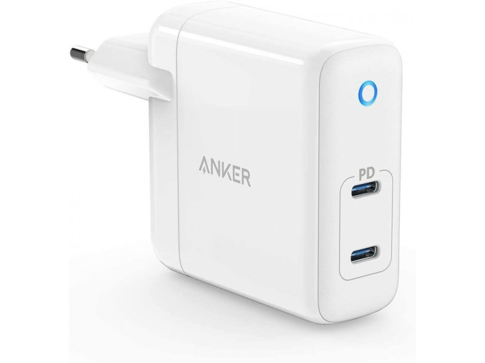 Anker PowerPort Atom PD 2 Wall charger 60W with Power Delivery and GaN - A2029321