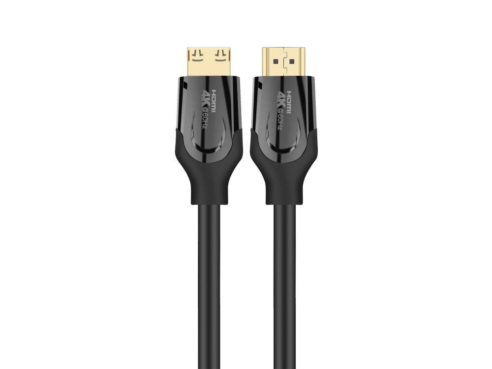 Nordic HDMI v2.0 Gold Plated Cable 4Κ@60Hz Active Fiber 15m. - HDMI-F020