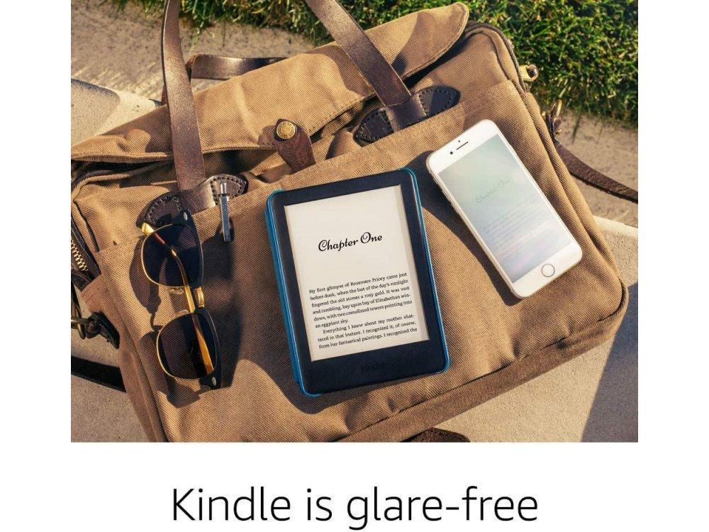 Amazon Kindle 10th Generation (Kindle 2019-2020), High-Resolution Display (167 ppi), Built-in Light, Λευκό (Χωρίς διαφημίσεις)