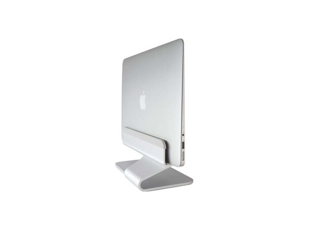 Rain Design mTower Vertical Laptop Stand for Macbook / Macbook Air, Silver - 10037
