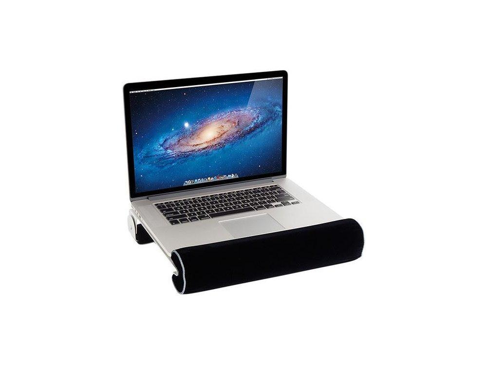 "Rain Design iLap, Lapdesk / Βάση με σύστημα Απαγωγής Θερμότητας για Laptop / Macbook έως 15"", Black/Silver - 10025"