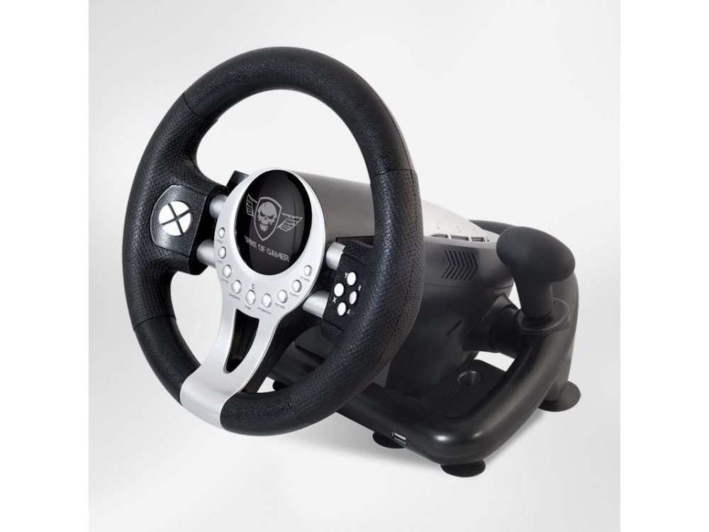 Spirit Of Gamer Race Wheel Pro 2 for PS4 / PS3 / PC / Xbox One - SOG-RWP2
