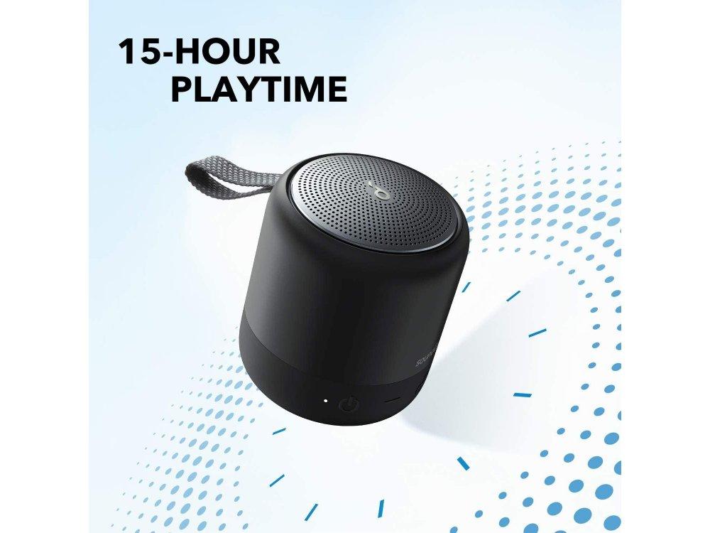 Anker Soundcore Mini 3, Φορητό Bluetooth Ηχείο 6W TWS - A3119011, Μαύρο