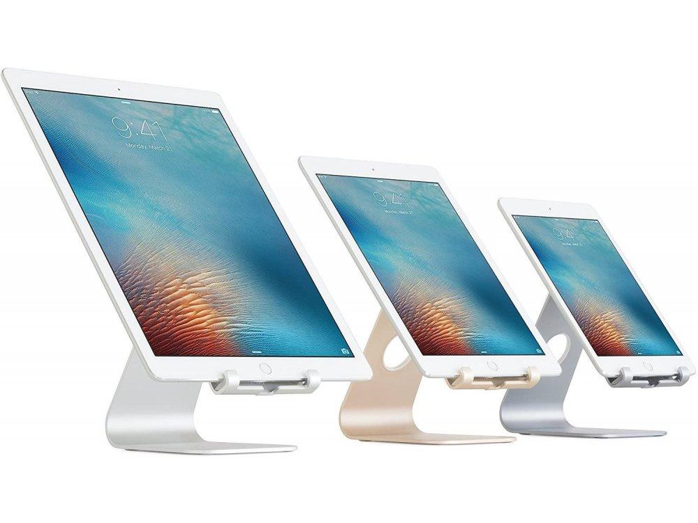 "Rain Design mStand Βάση/Stand Tablet/iPad Ρυθμιζόμενη για συσκευές έως 13"", Space Grey - 10052"