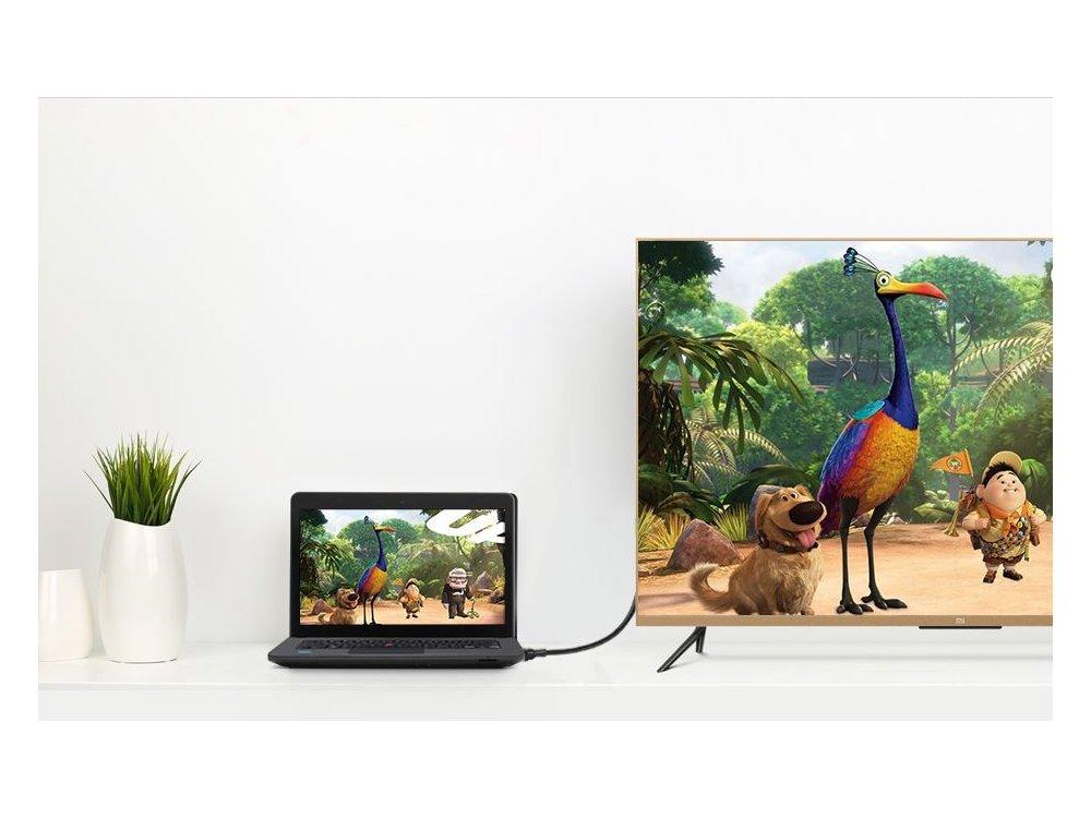 Ugreen Mini DisplayPort to DisplayPort 4K@60Hz Καλώδιο 1,5. Λευκό - 10476
