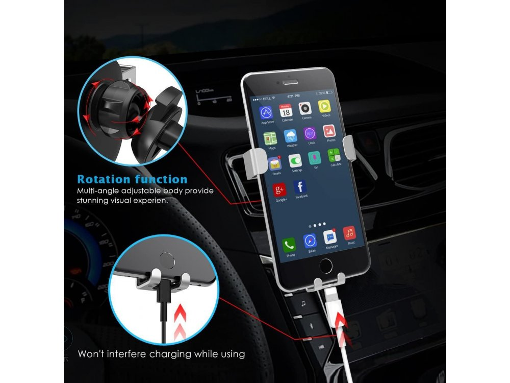 Lamicall G Βάση Αυτοκινήτου αεραγωγού για smartphone
