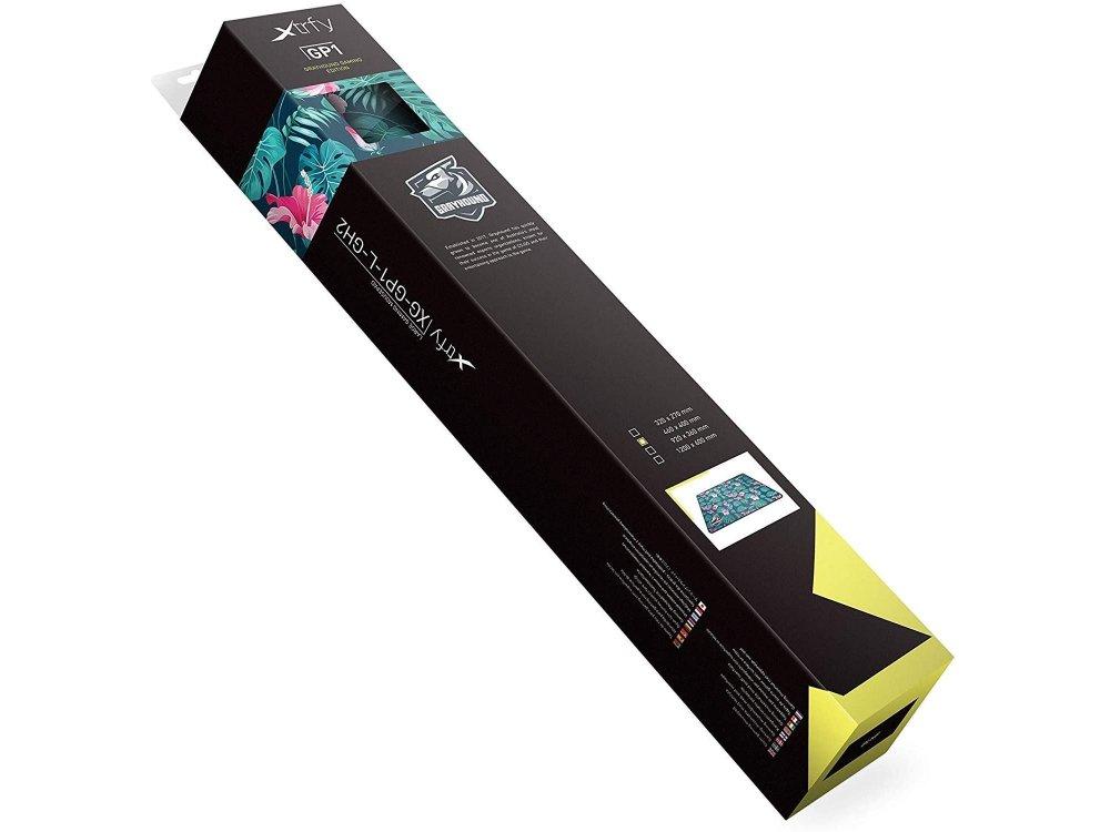 Xtrfy Grayhound Tropical Large Gaming Mouse Pad (46x40cm) - XG-GP1-L-GH2