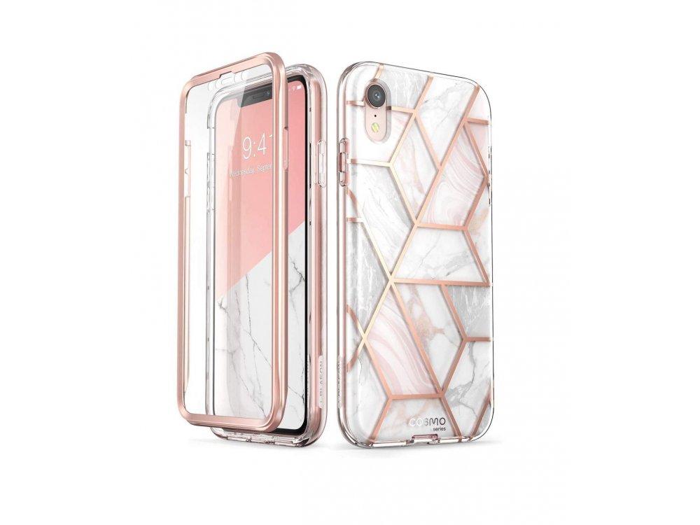 i-Blason iPhone XR Cosmo Θήκη, Marble Pink