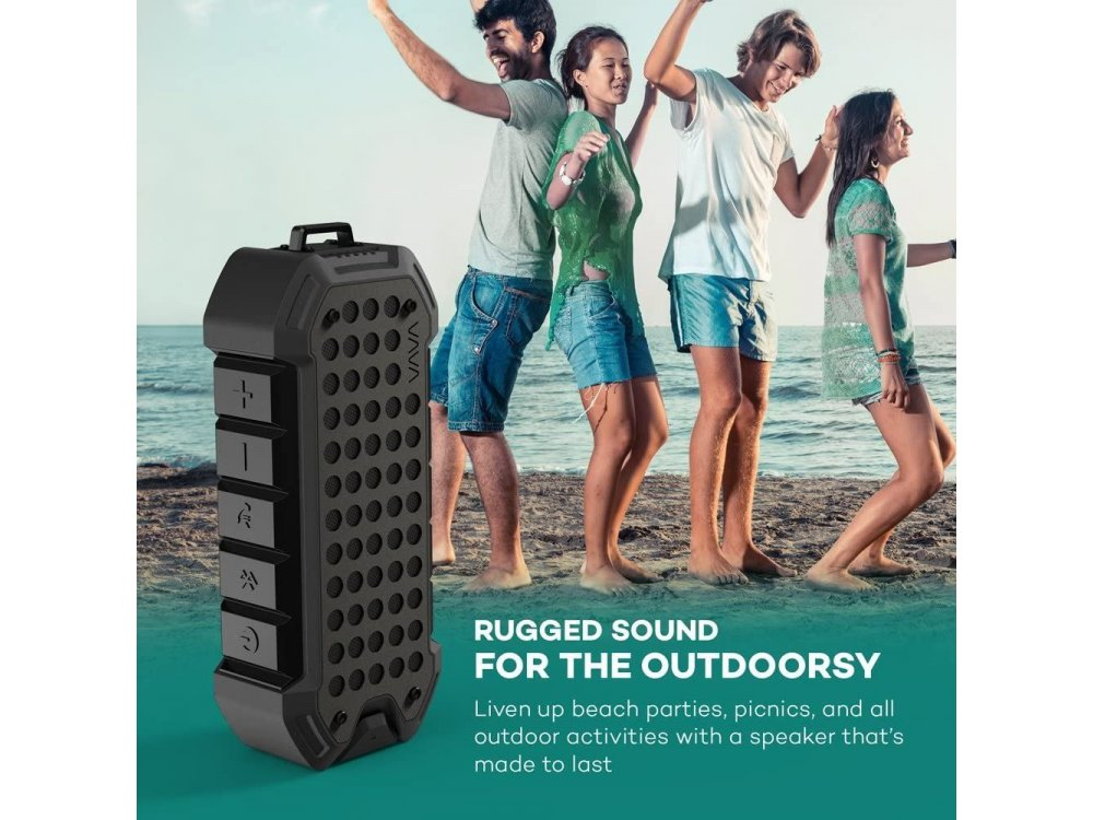 VAVA VOOM 23, Φορητό Αδιάβροχο Bluetooth Ηχείο - VA-SK004