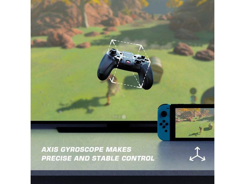 Gamesir G4 Pro ασύρματο gamepad για Android/Windows/iOS/Nintendo Switch, Bluetooth