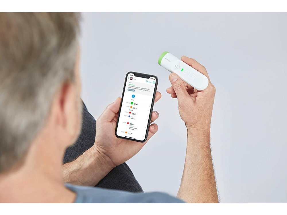 Withings Thermo, Smart Θερμόμετρο Ανέπαφης Χρήσης, με APP & WiFi - SCT01