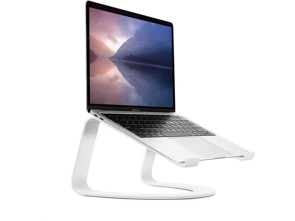 "Twelve South Curve Stand/Βάση για Laptop / Macbook 11-17"", Εργονομική, White - 12-1915"