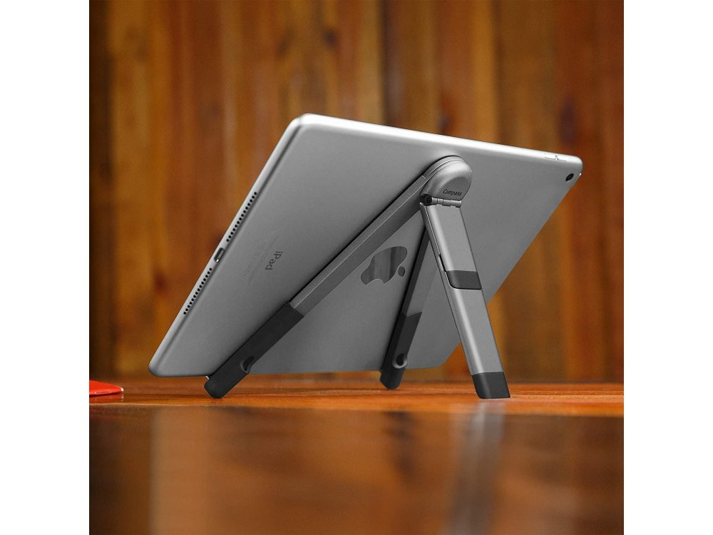 Twelve South Compass Pro Βάση/Stand iPad / Tablet, 3 Viewing/Typing Angles, Με προστατευτική Θήκη, Space Grey, 12-1805