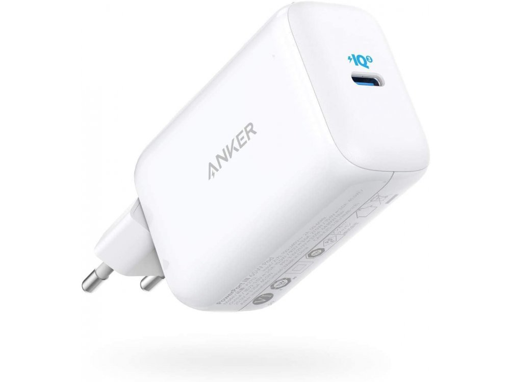 Anker PowerPort III Pod Wall charger 65W with Power Delivery, PPS, PIQ 3.0 & MiniFuel - A2712321