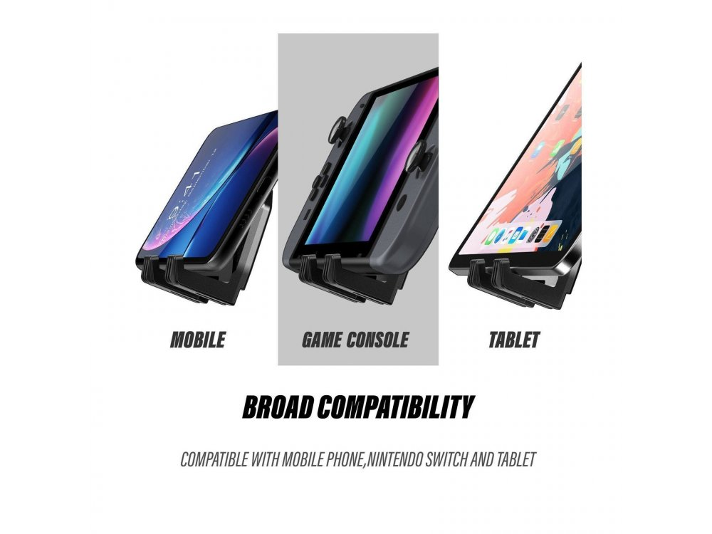 """Supcase Heavy Duty Aerospace Mount/Stand Tablet Adjustable 270° for Devices 5""""-13"""", Carbon Fiber"""