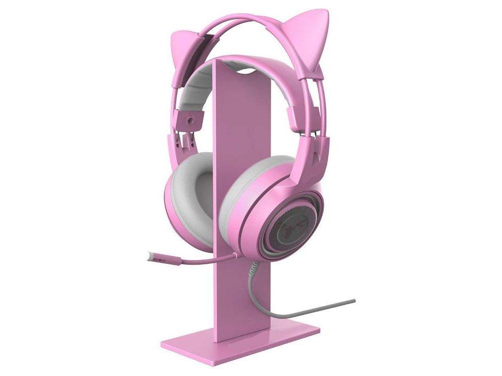 Onikuma Headphone Gaming  Βάση / Stand για Headset / Ακουστικά, Ροζ