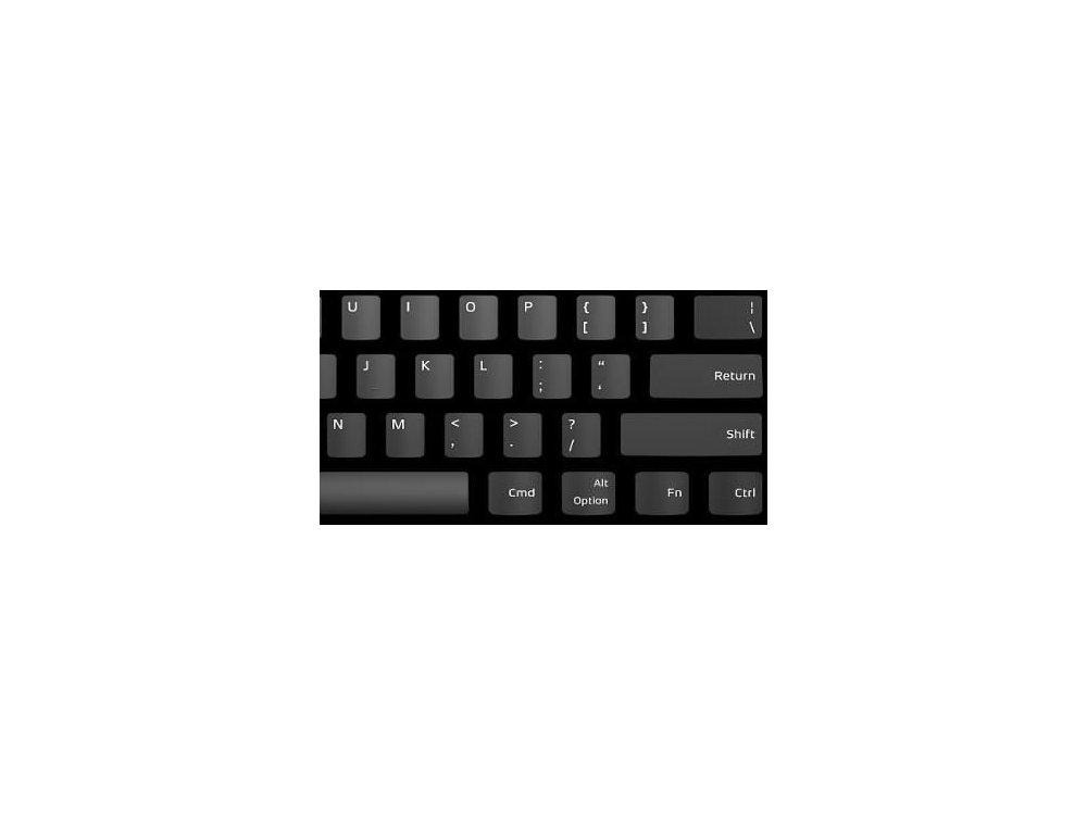 Das Keyboard 4 Professional Ενσύρματο Μηχανικό Πληκτρολόγιο για MAC, Cherry MX Brown Switches - Soft Tactile - UK