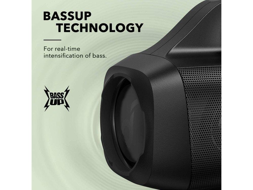 Anker Soundcore Motion Boom, Φορητό Bluetooth Ηχείο 30W, IPX7 με 24H Playtime, Μαύρο - A3118011