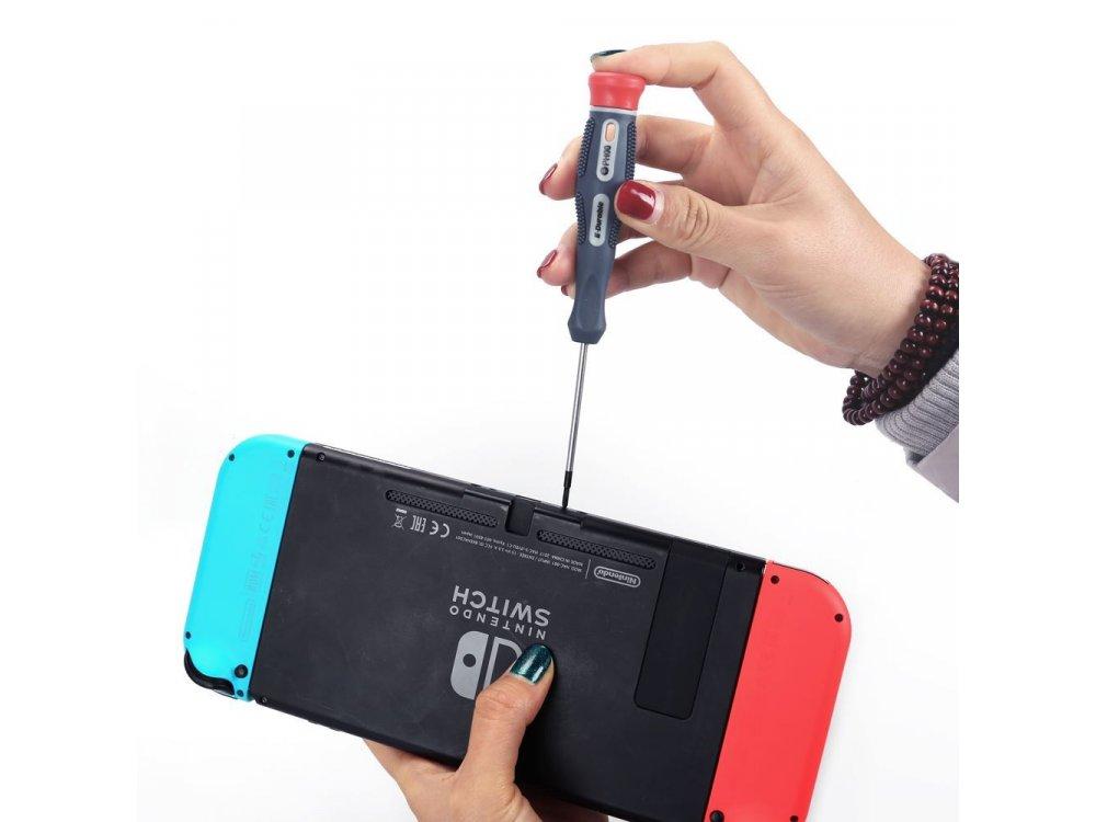 Nordic Nintendo Switch Repair Kit, 12pcs - ED-8631