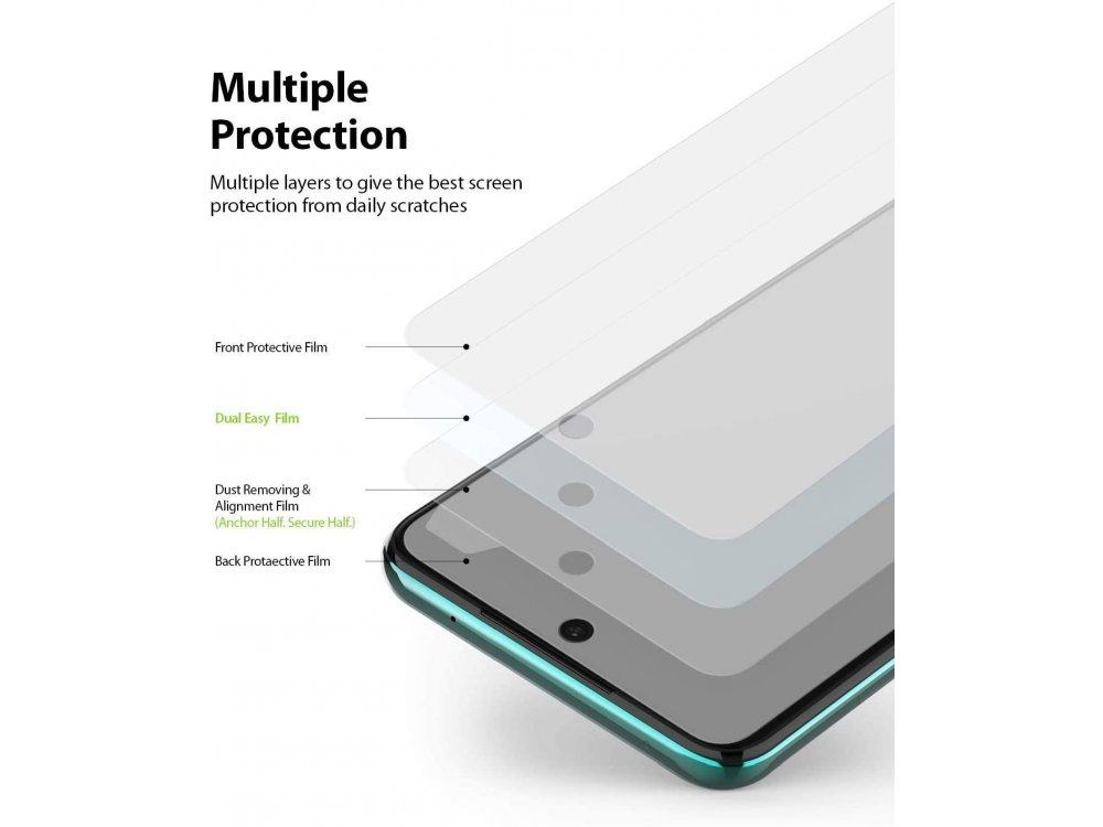 Ringke Xiaomi Redmi Note 9S / 9 Pro / 9 Pro Max Screen Protector, Dual Easy Film, Set of 2