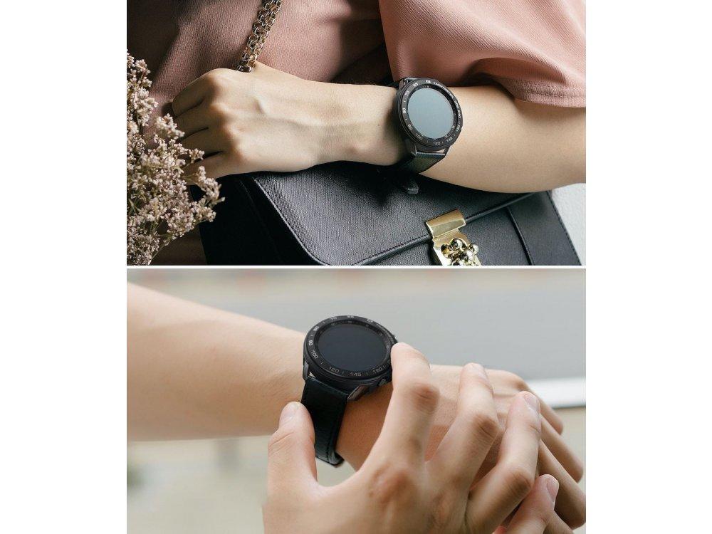 Ringke Galaxy Watch 3 45mm Air Sports + Bezel Styling Aluminum Combo Pack, Black