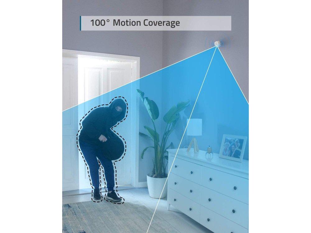 Anker Eufy Motion Sensor, 100° Οπτικό Πεδίο, 2-Year Battery Life για χρήση με EufyCam Κέντρο (HomeBase 2) - T8910021