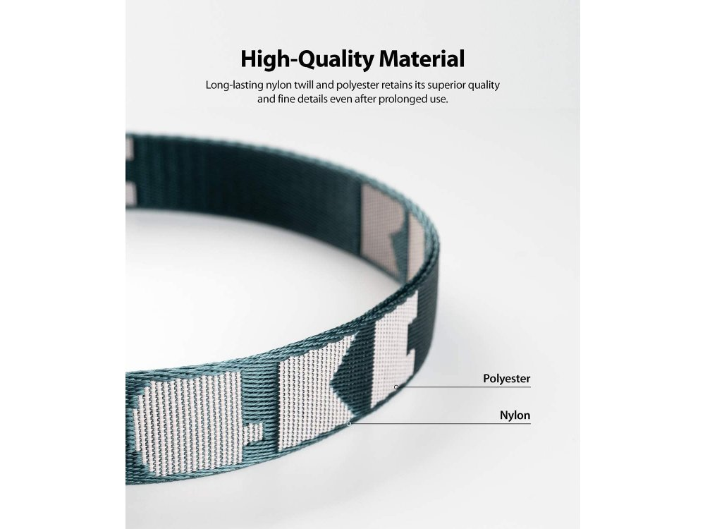 Ringke Lanyard Shoulder / Neck Strap for Smartphone / Cases / Keys / Camera and more, Peacock Green