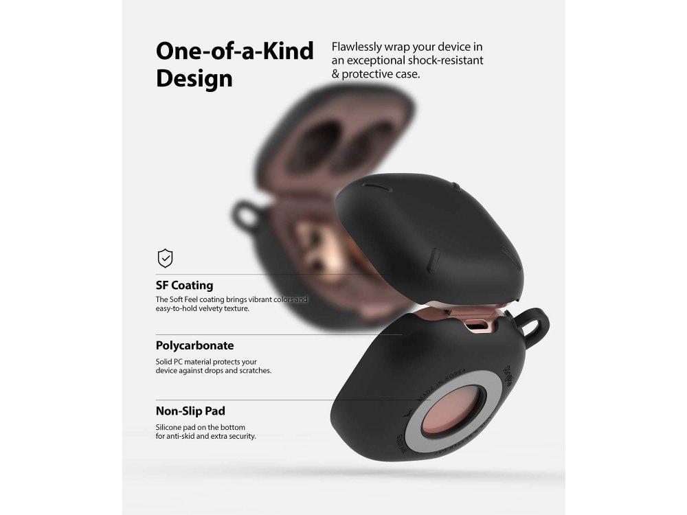 Ringke Slim-X Galaxy Buds Pro / Galaxy Buds Live Case, Matte Black