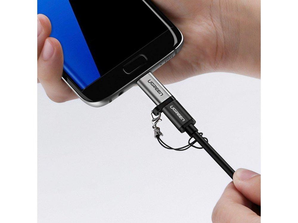 Ugreen Αντάπτορας USB-C Θηλυκό σε Micro-USB - 50590, Ασημί