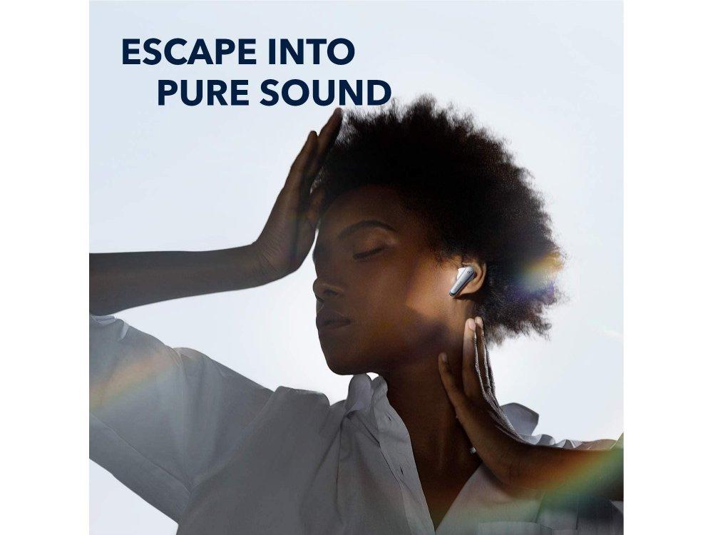 Anker Soundcore Liberty Air 2 Pro ANC Bluetooth Ακουστικά TWS - A3951G21, Λευκά