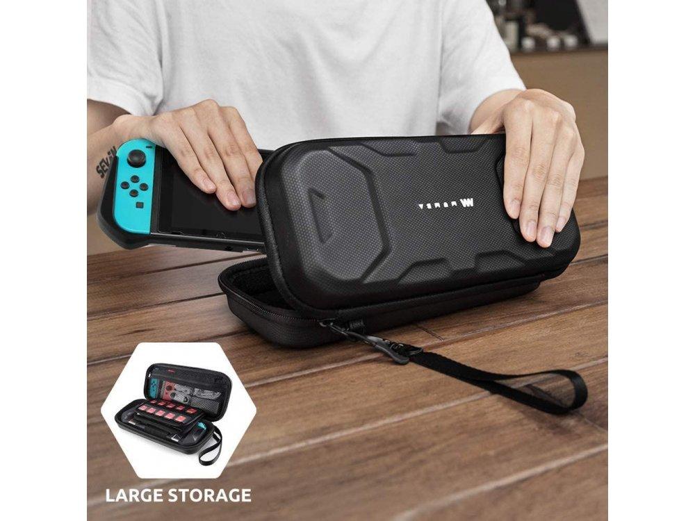 Mumba Deluxe Nintendo Switch θήκη μεταφοράς για συσκευή και παρελκόμενα - Black